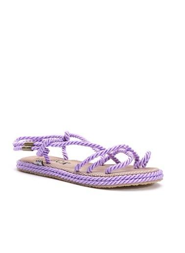 Shoes&Moda Sandalet Lila